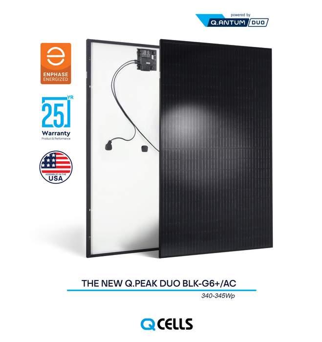 Q CELLS Q.PEAK DUO BLK-G6+/AC345 solar panel
