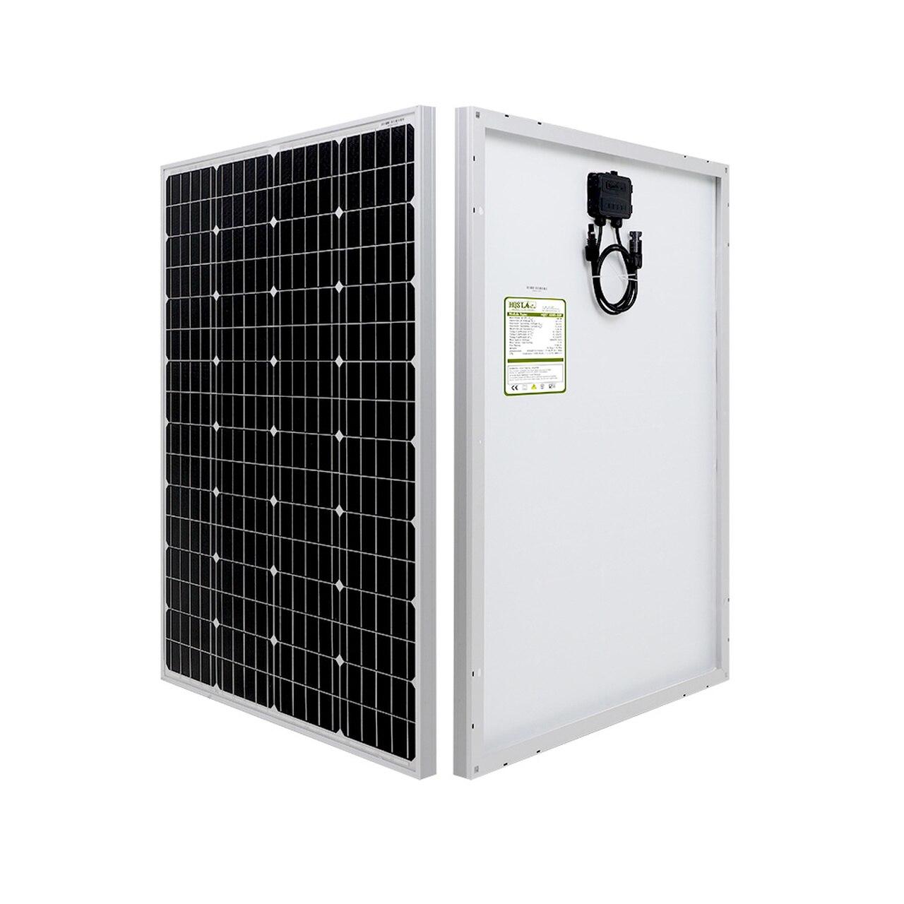 HQST 100 WATT 12 VOLT MONO SOLAR PANEL solar panel