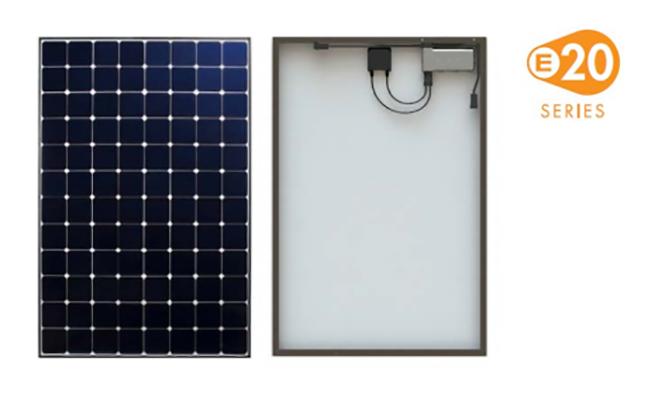 SunPower SPR-E20-327-D-AC solar panel